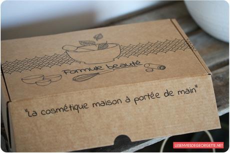 Formule Beauté : la box beauté pour faire ses produits soi-même !