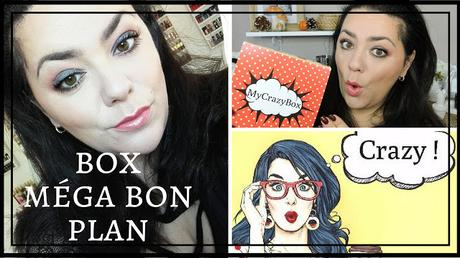 Bon plan box beauté : My Crazy Box
