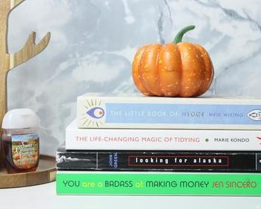 Mes lectures pour l'automne | Fall Reading List 🍂📚