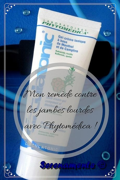Mon remède contre les jambes lourdes avec Phytomédica !