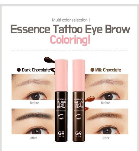Je me tatoo les Sourcils ! Essence Tatoo Eye Brow G9 Skin