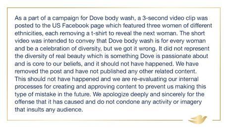Scoop – Les dessous de la campagne « raciste » de Dove