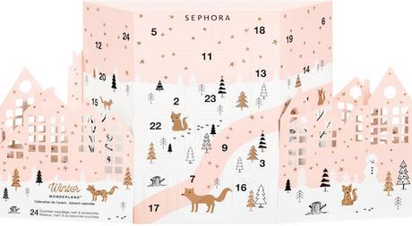 calendrier de l'avent beauté Sephora 2017