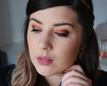Glitter Red Ochre Makeup {Desert Dusk ~ Huda Beauty}