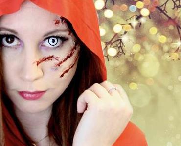 Maquillage d'Halloween – Le petit chaperon rouge