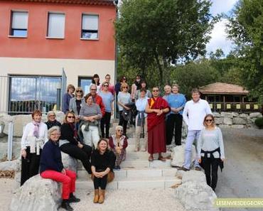 2 jours dans le sud de l'Ardèche avec Lama Samten #1