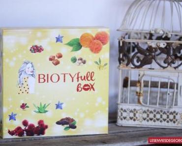 BIOTYFULL Box Novembre 2017 : L'Éclatante