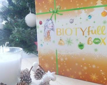 La Merveilleuse - Biotyfull Box décembre 2017