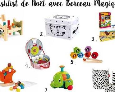 Instant de maman #18: la wishlist de Noël Berceau Magique de Noah