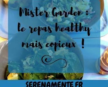 A la découverte de Mister Garden : le repas healthy mais copieux !