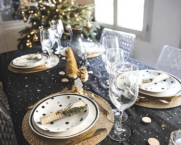 Ma table de Noël // Déco