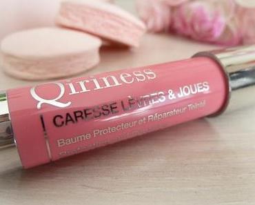Baume Caresse Lèvres et Joues Qiriness - Un must-have niveau confort et hydratation
