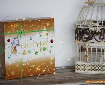 Biotyfull Box de décembre 2017