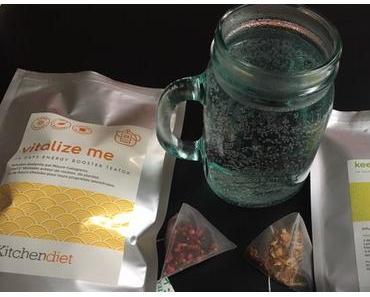 En mode cure détox avec les thés de KitchenDiet + CONCOURS