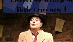 Premier Amour Samuel Beckett Théâtre Nesle avis