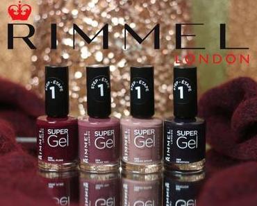 Urban Affair: la nouvelle collection de vernis «Super Gel» de Rimmel !