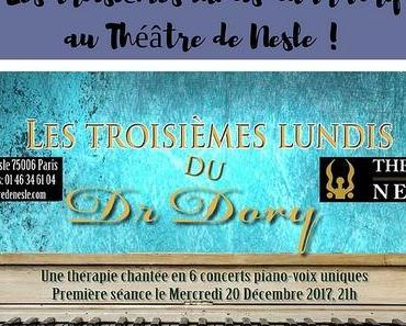 Les troisièmes lundis du Dr Dory au Théâtre de Nesle !