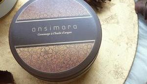 Gommage l'huile d'Argan Ansimara