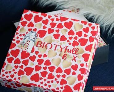 La Biotyfull Box l'amoureuse de Février 2018