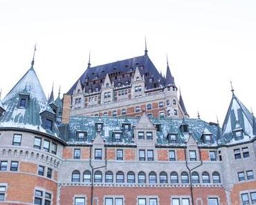La ville de Québec & les chutes de Montmorency | Winter Holiday Road Trip
