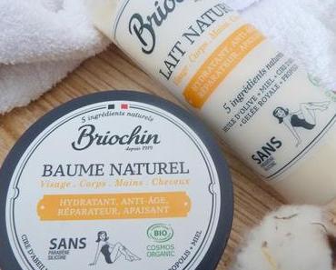 Lait Naturel et Baume Naturel, les soins réconfortants signés Briochin
