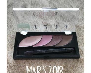 [Project pan] Terminer une palette en 2018 – update #1