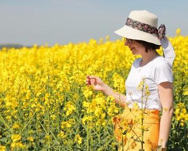 En jaune colza