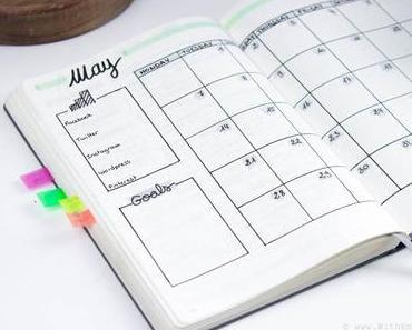 May Bullet Journal | Mon organisation du mois de Mai