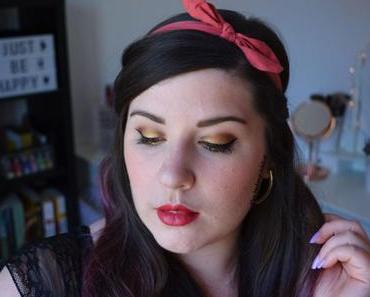 Gold Makeup {Soft Glam d'Anastasia Beverly Hills}