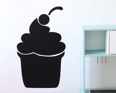 Le Stickers ardoise Cupcake : pratique et ludique