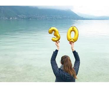 J'ai eu 30 ans ! Mes cadeaux d'anniversaire