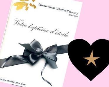 """""""Notre amour durera autant que les étoiles"""", grâce à Etoilez-moi (+ concours)"""