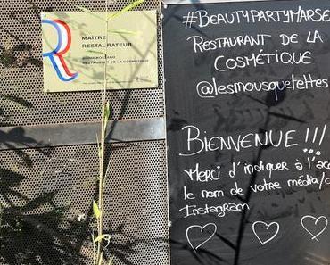 Beauty Party des Mousquetettes, édition de l'été 2018