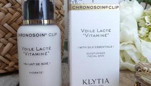 Voile lacté vitaminé Klytia, soin matin inspiré Chronobiologie