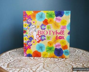 La Biotyfull Box de Juillet 2018 : l'ensoleillée