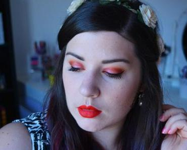 Red Copper Makeup {10-Year Anniversary Kat von D}