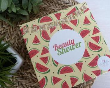 Beauty Shower - My Sweetie Box du mois d'août 2018