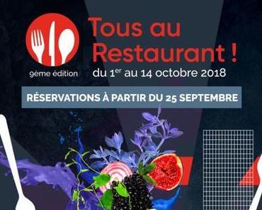 Bon Plan Restaurant avec l'opération Tous au Restaurant !