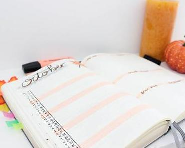 Mon Bullet Journal d'Octobre