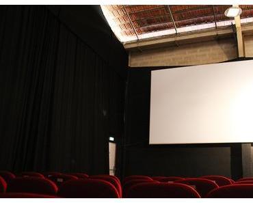 Le cinéma éphémère La Forêt Electrique, au cœur de la friche industrielle de la Cartoucherie.