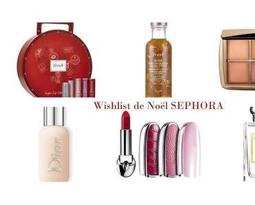 Wishlist de Noël Sephora - je plaide la légitime dépense
