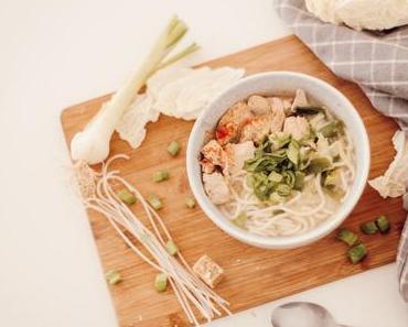 Recette de soupe Chinoise au chou et au poulet