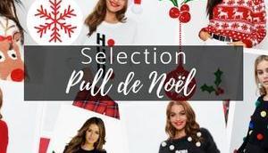 sélection pull Noël 2018