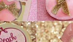 coffret Peach Tinsel Faced