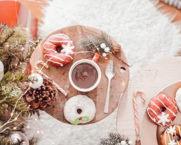 Recette de petits donuts de Noël