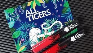rouges lèvres liquides Vegan Tigers