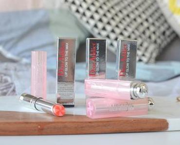 Revue : les nouveaux Lip Glow to the max & Lip Maximizer de Dior