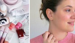 Tutoriel maquillage teste marque Glossier