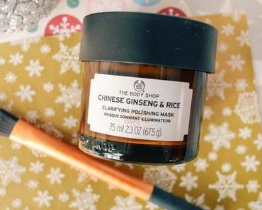 Un teint frais et lumineux avec le masque Chinese Ginseng & Rice de The Body Shop