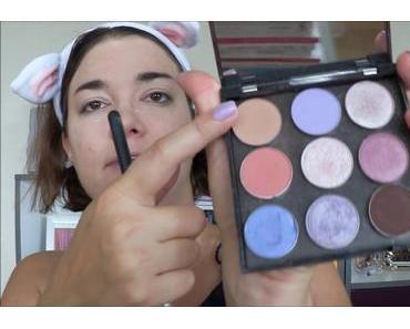 [Vidéo]GRWM – maquillage violet pour une journée entre amies !